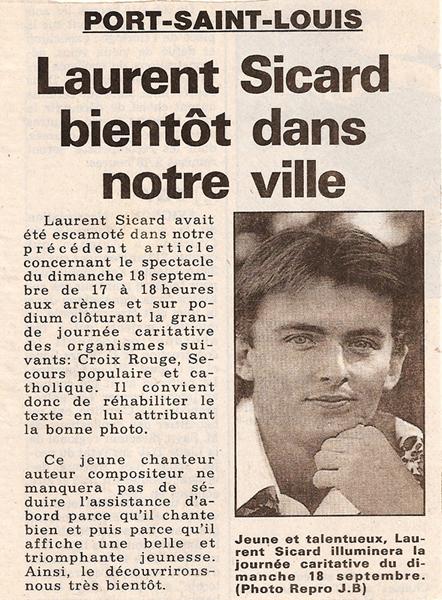 Bienvenue sur le site officiel de laurent sicard - Le journal d eyragues ...
